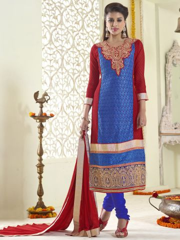 https://static1.cilory.com/106429-thickbox_default/zubin-red-blue-karachi-work-semi-stitched-suit.jpg