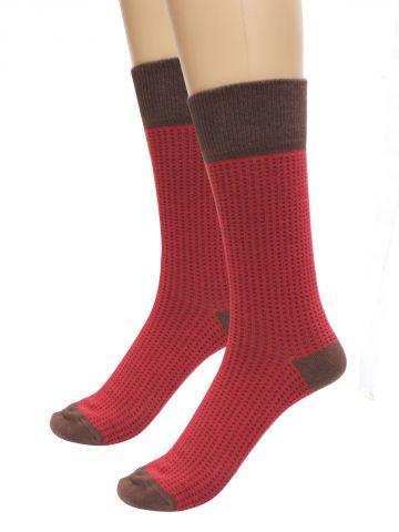 Turtle Red Socks  Pack of 1