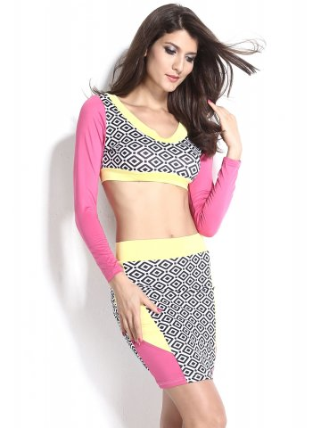 https://static7.cilory.com/116891-thickbox_default/neon-yellow-pink-skirt-set-with-print-panel.jpg