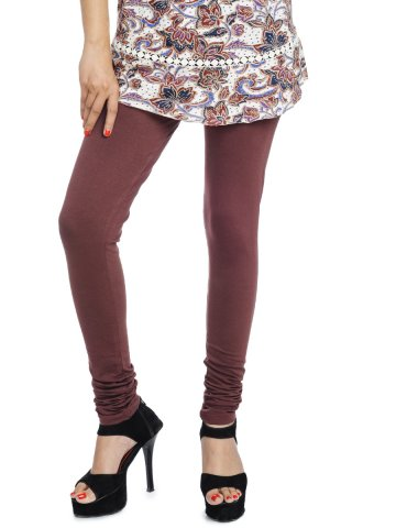 Rupa Softline Coffee Churidar Legging at cilory