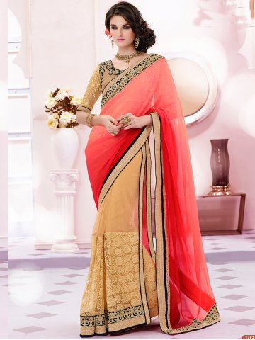 https://static5.cilory.com/148988-thickbox_default/designer-beige-pink-party-wear-saree.jpg