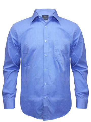 Turtle Pure Cotton Blue Slim Fit Shirt at cilory