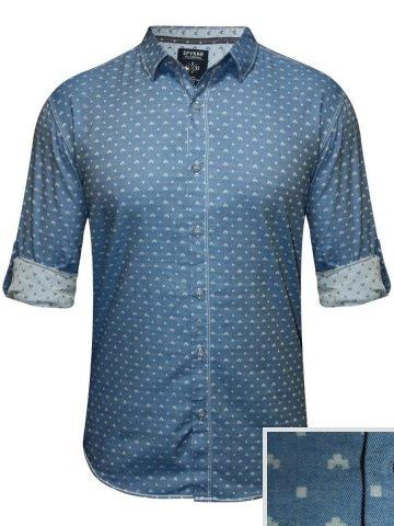 https://static3.cilory.com/209411-thickbox_default/spykar-blue-casual-printed-shirt.jpg