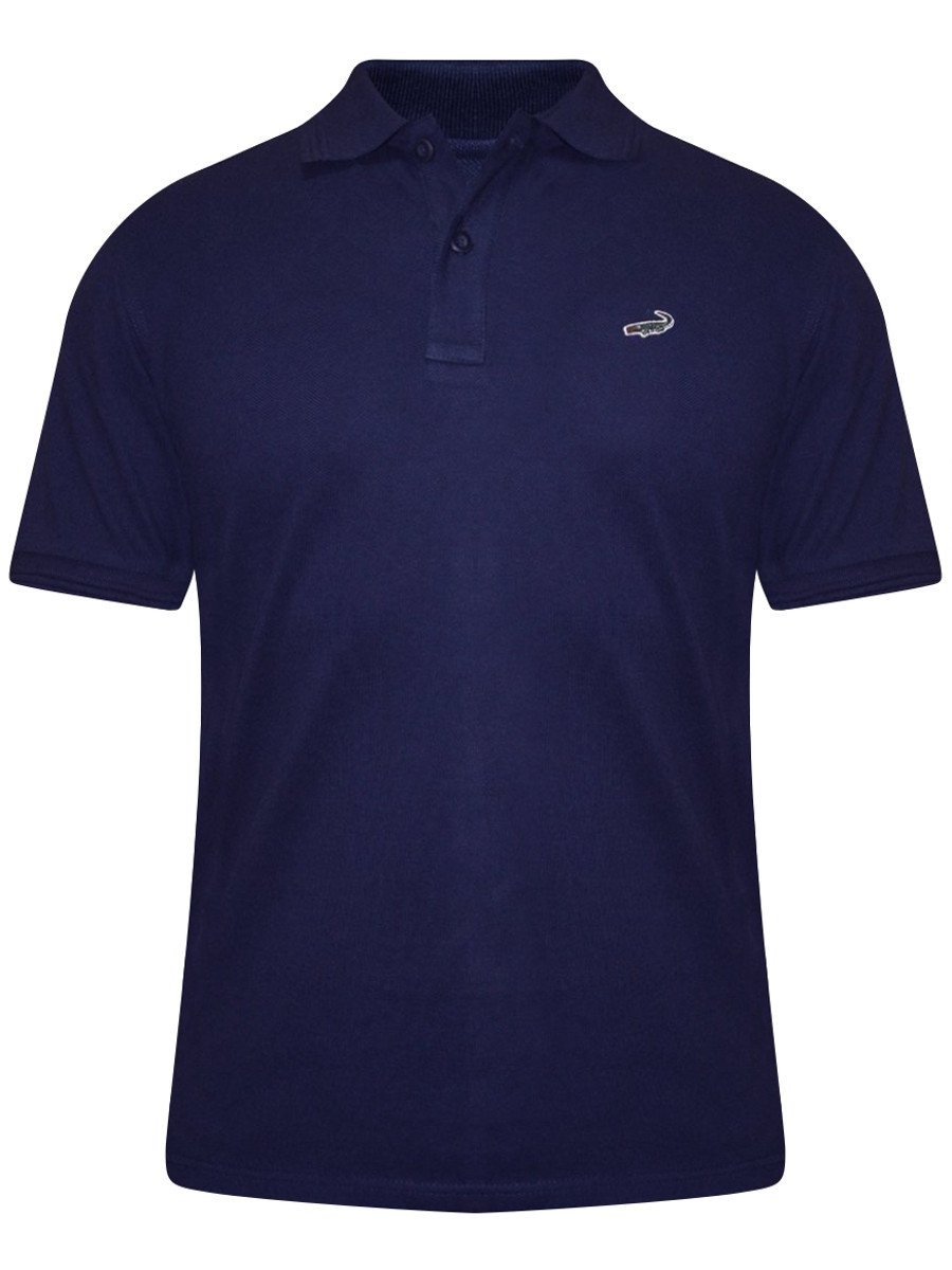 Buy T Shirts Online Crocodile Navy Polo T Shirt