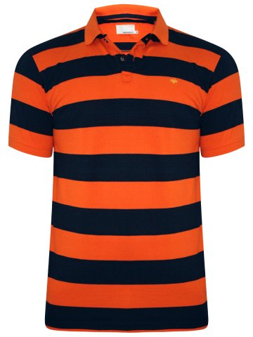 Peter England Orange Polo T-Shirt at cilory