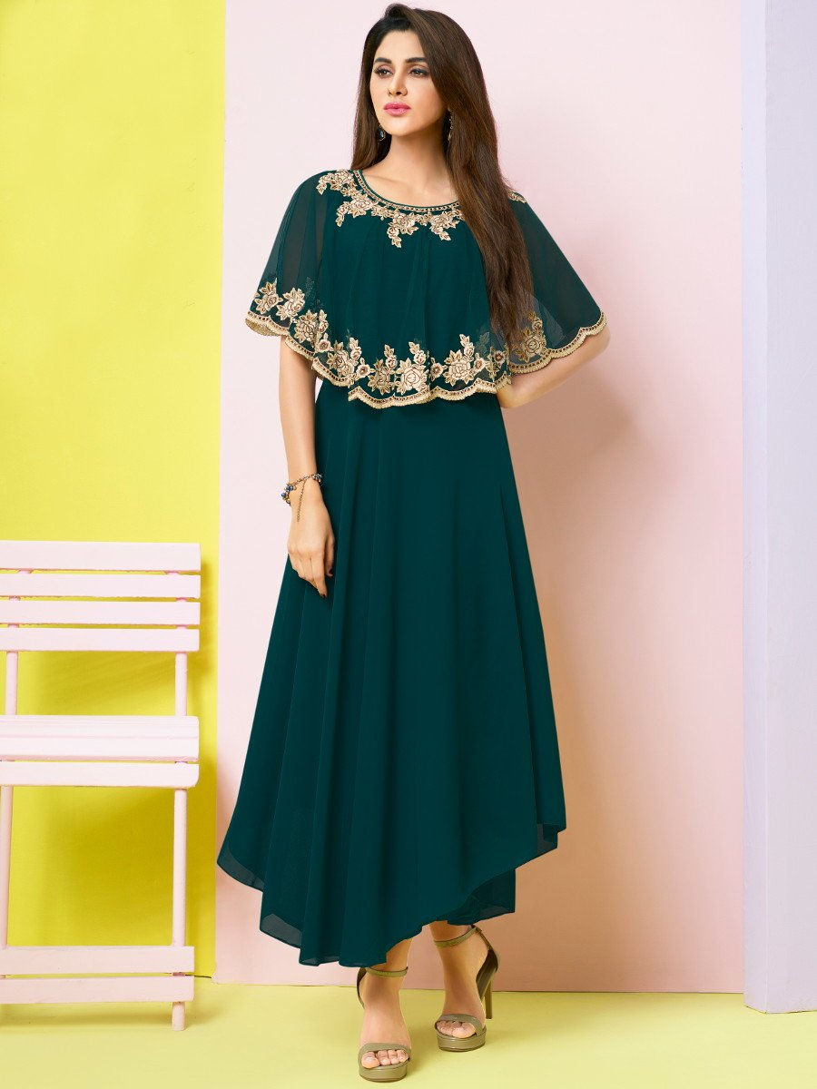 3629b7613e1f22 Buy Designer Party Wear Kurtis Online - Cilory