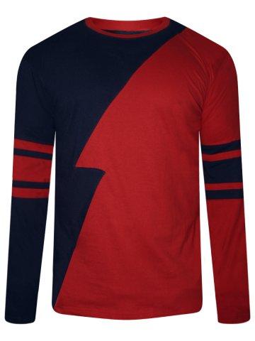 https://static1.cilory.com/315182-thickbox_default/nologo-navy-red-cut-sew-t-shirt.jpg