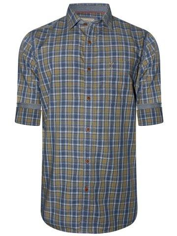 https://static.cilory.com/323336-thickbox_default/arrow-blue-mustard-casual-shirt.jpg