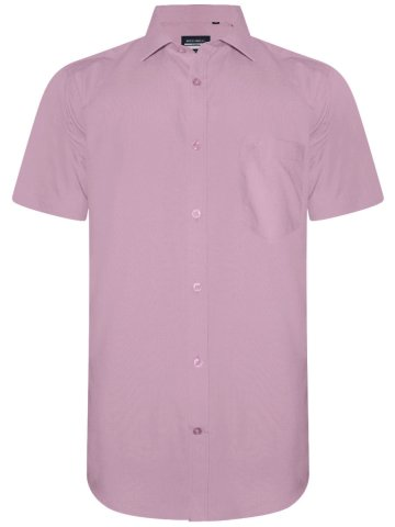 Monte Carlo Classico Pure Cotton Pink Shirt at cilory