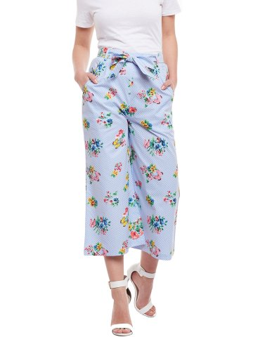 Wisstler Light Blue culottes at cilory