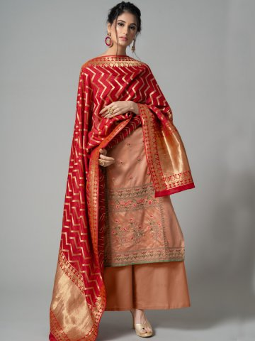 https://static3.cilory.com/374063-thickbox_default/peach-semi-stitched-embroidered-suit-with-jacquard-dupatta.jpg