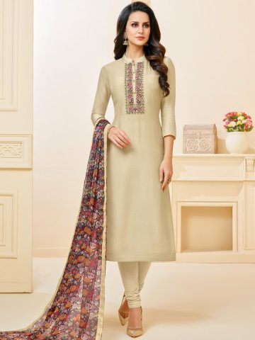 https://static4.cilory.com/383857-thickbox_default/beige-chanderi-cotton-semi-stitched-suit.jpg