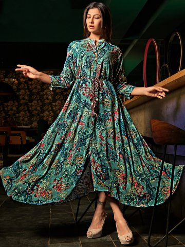 https://static2.cilory.com/385757-thickbox_default/green-printed-flared-kurti-with-string.jpg