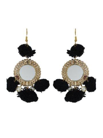 https://static.cilory.com/392087-thickbox_default/black-handicraft-earrings-with-pom-pom.jpg