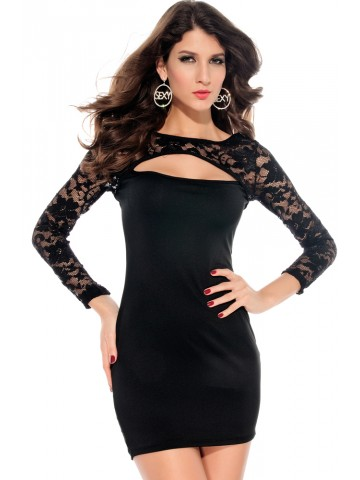 https://static5.cilory.com/39431-thickbox_default/ladies-v-neck-mini-slim-lace-dress-clubwear-half-sleeves-black.jpg