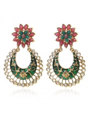 https://static1.cilory.com/39814-thickbox_default/elegant-polki-work-earrings-engraved-with-meena-and-beads.jpg