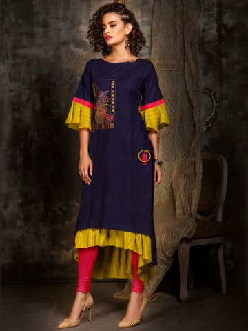 https://static3.cilory.com/405414-thickbox_default/navy-blue-bell-sleeves-embroidered-kurti.jpg