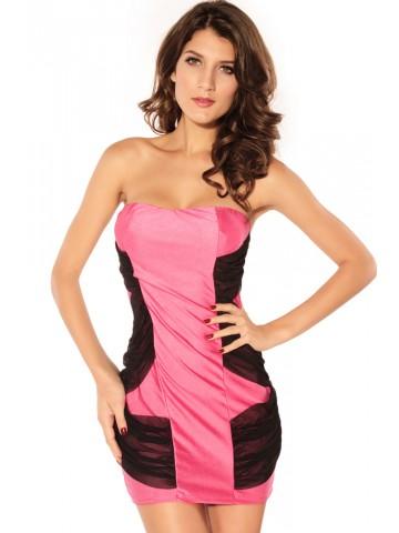 https://static6.cilory.com/75267-thickbox_default/strapless-mesh-sides-overlay-mini-dress-in-pink.jpg