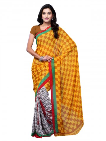 https://static3.cilory.com/89754-thickbox_default/jaipur-kurti-s-fancy-yellow-and-white-georgette-saree-paired-with-blouse.jpg